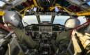 Boeing B 52H Stratofortress cockpit view.