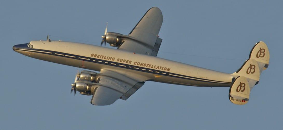 Breitling Super Constellation Flyers Lockheed L 1049F Super Constellation