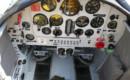 Cockpit photo of Yak 50 VH DZY.