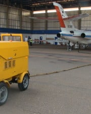 How Do Jet Engines Start & What is a Huffer Cart?