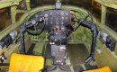 Martin B 26G Marauder cockpit.