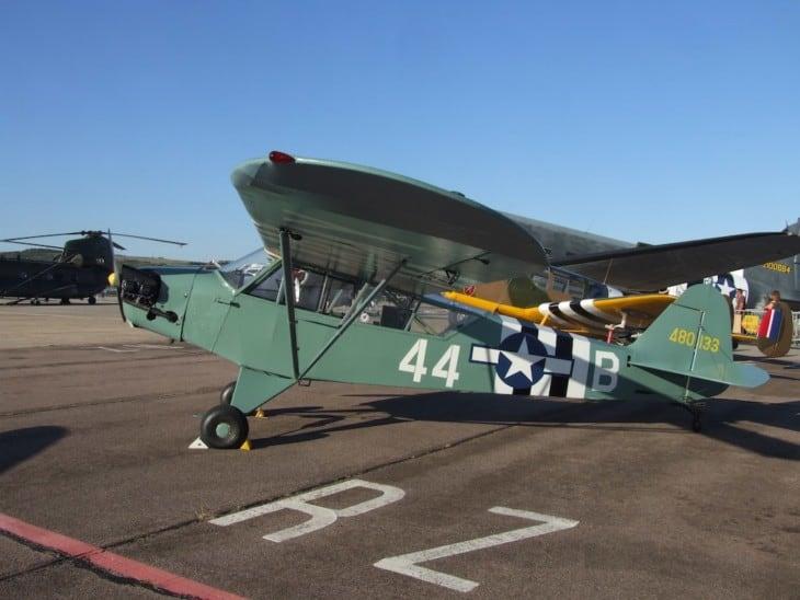Piper J 2 Cub at Shoreham Airshow
