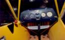 Piper J 3 Cub cockpit