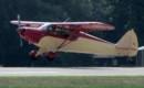 Piper PA 12 Super Cruiser Landing