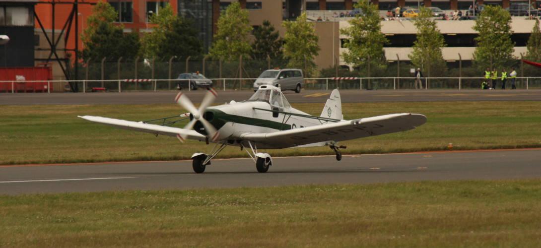 Piper PA 25 Pawnee.