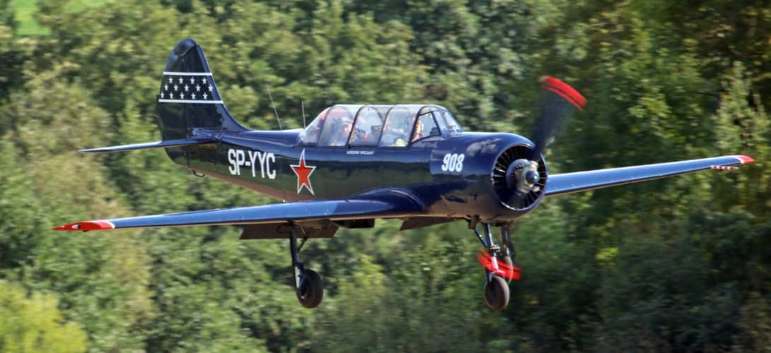 SP YYC Yakolev Yak 52