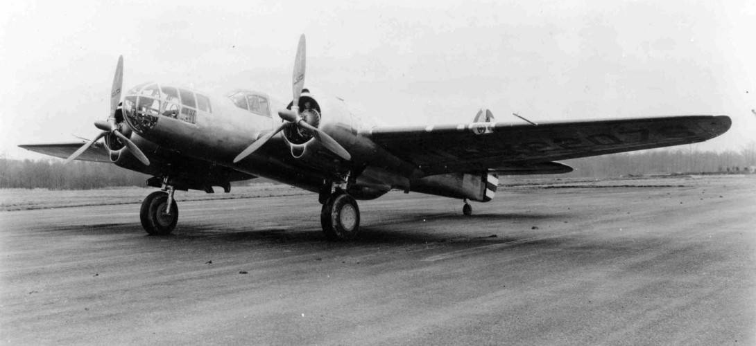 The Martin XA 22 prototype on 13 April 1939.