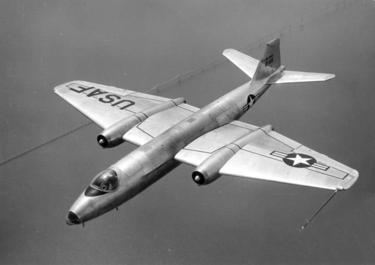 U.S. Air Force Martin B 57A Canberra first production model