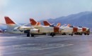 U.S. Navy Douglas A 3 Skywarrior aircrafts.