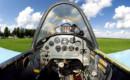 Yak 52. Cockpit