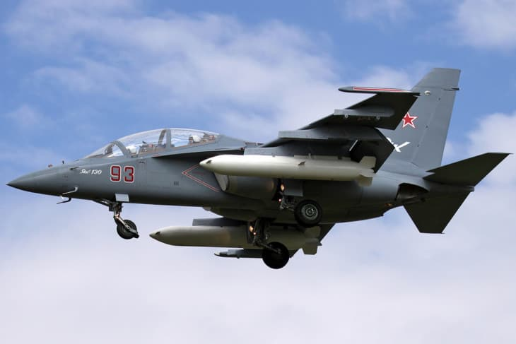 Yakovlev Yak 130 advanced jet trainer