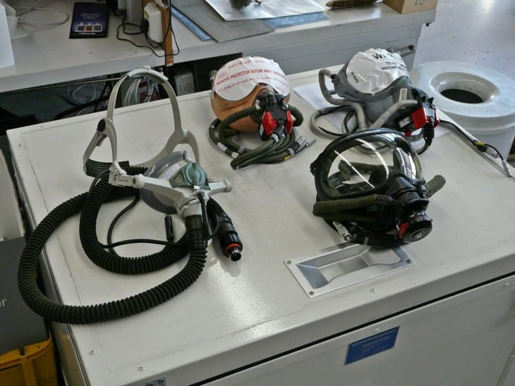 different types of oxygen masks