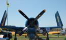 A blue angels Grumman F8F Bearcat