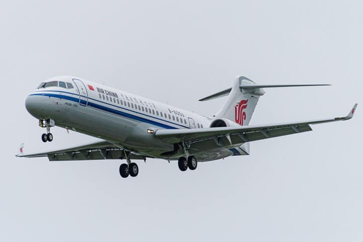 Air China 088 COMAC ARJ21.