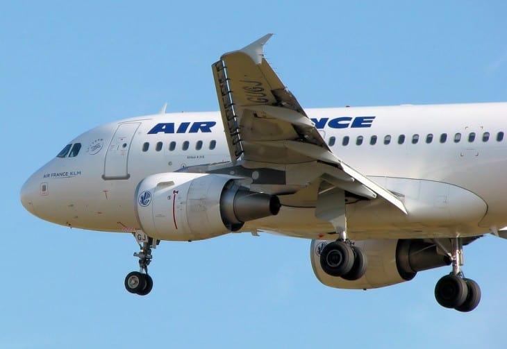 Airfrance A318 100 Slats