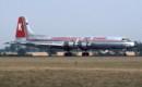 G AXAA Canadair CL 44D 4 TransMeridian Air Cargo