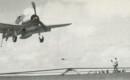 Grumman F6F Hellcat landing on a Aircraft Carrier