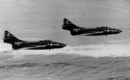 Grumman F9F 6 Cougars of VF 142
