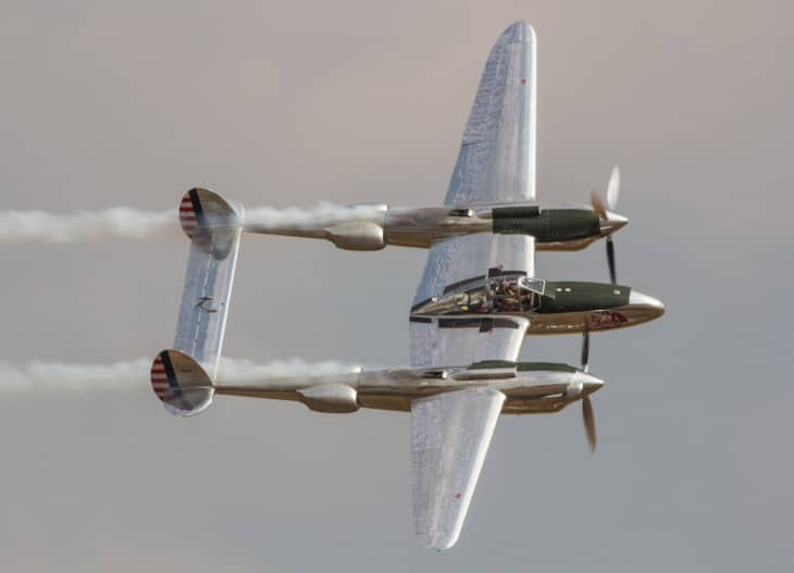 Lockheed P 38 Lightning N25Y
