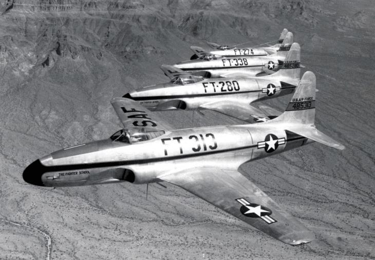 Lockheed P 80 Shooting Stars