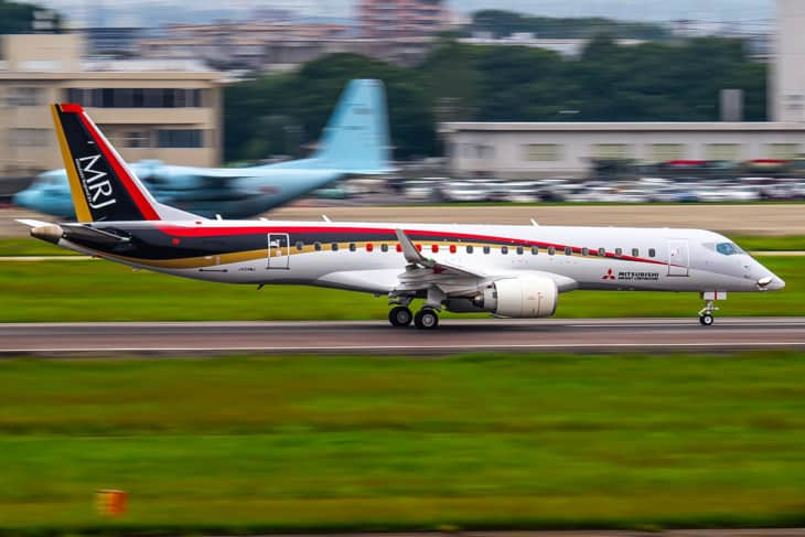 MRJ90 Ram air turbine test
