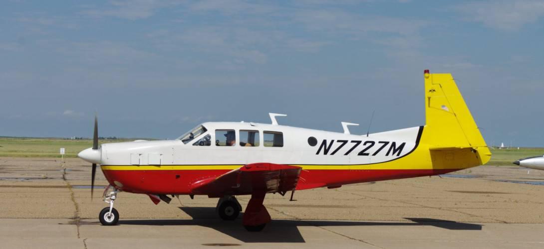 Mooney M22 Mustang N7727M