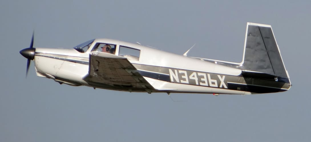 N3436X Mooney M20C Ranger