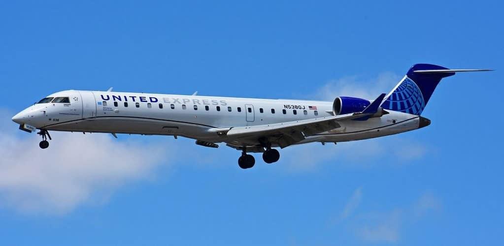 N538GJ Bombardier CRJ 550 CRJ 700 United Express