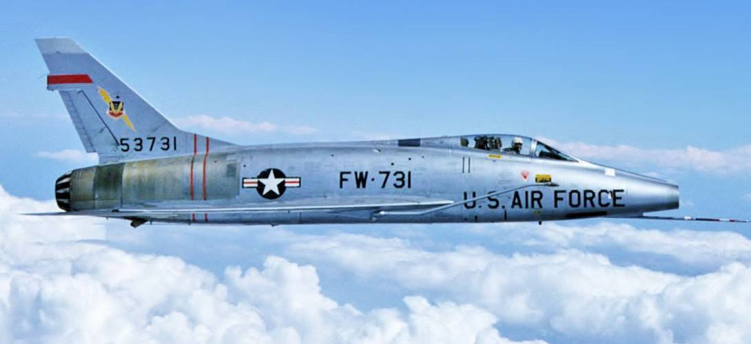 North American F 100 Super Sabre