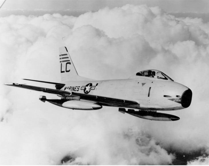 North American FJ 3 F 1C Fury of VMF 122