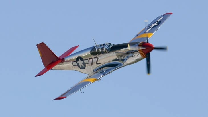 North American P 51 Mustang INA Macon Belle
