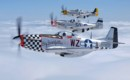 North American P 51 Mustangs