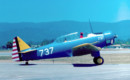 North American Yale ex RCAF painted as an Air Corps BT 14.