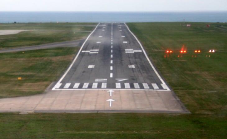 PAPI Jersey Airport