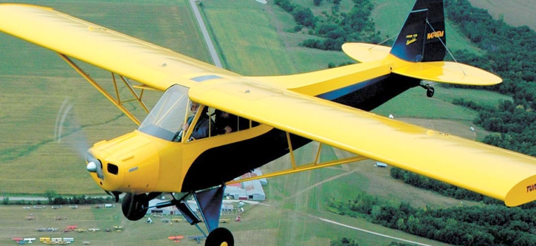 Piper PA 11 Cub Special 1