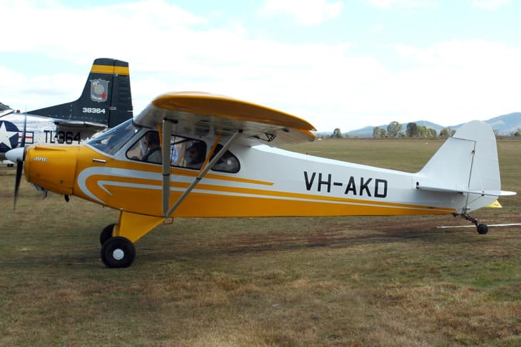 Piper PA 11 Cub Special VH AKD