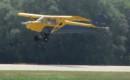 Piper PA 11 Landing