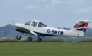 Piper PA 38 Tomahawk Taking off