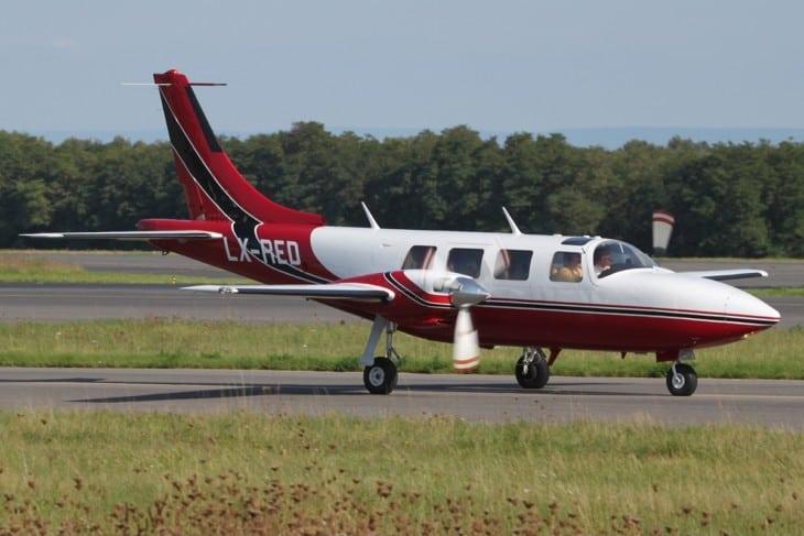 Piper PA 60 602P Aerostar LX RED