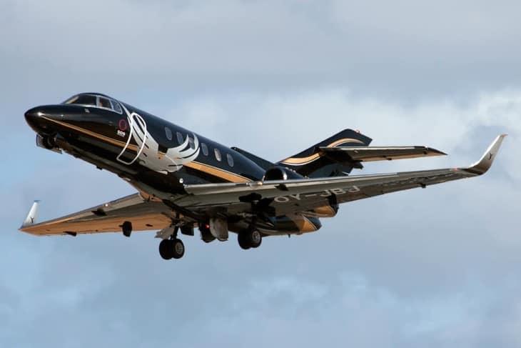 Raytheon Hawker 800XP Sun Air of Scandinavia