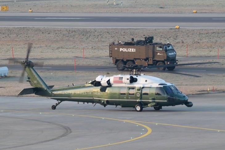 Sikorsky VH 60N White Hawk