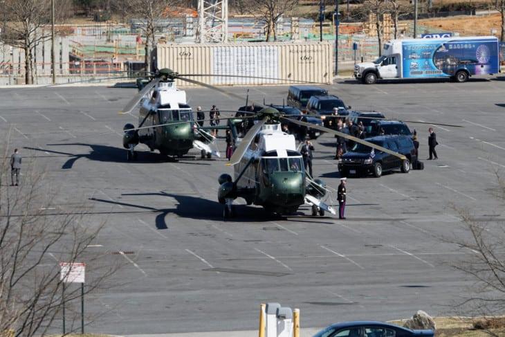 Sikorsky VH 60N White Hawk Marine One at CPAC 2017