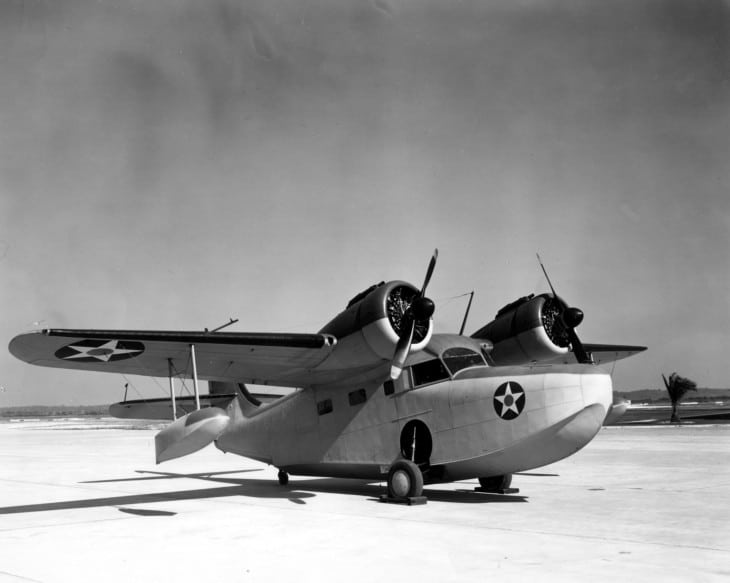 This JRF 5 Grumman JRF 5 Goose was assigned to Naval Air Station Jacksonville Florida in 1941