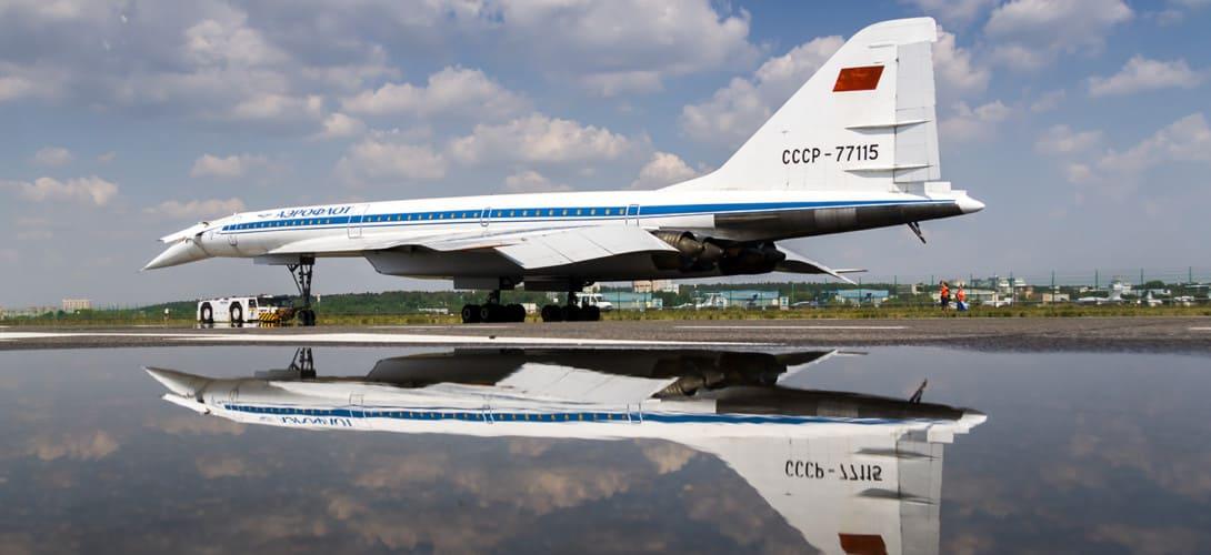 Tupolev Tu 144 CCCP 77115