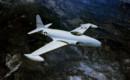 U.S. Air Force Lockheed P 80A 1 LO Shooting Star in flight.