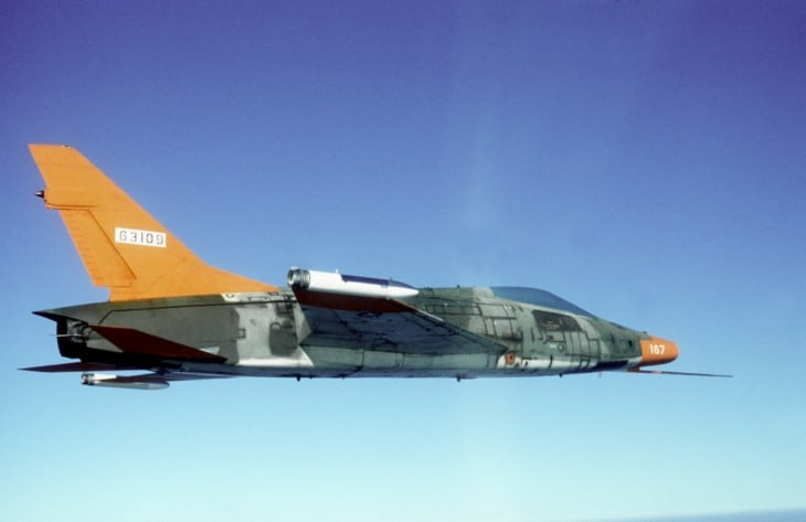 U.S. Air Force North American QF 100D Super Sabre