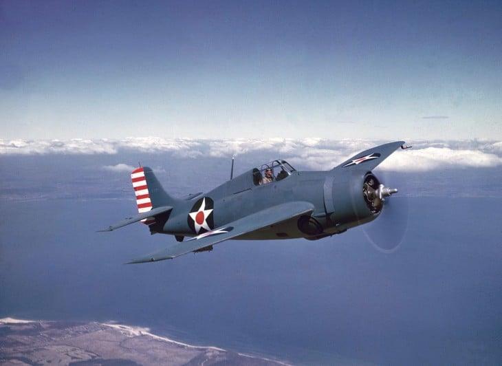 U.S. Navy Grumman F4F 3