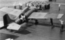 U.S. Navy Grumman F4F 3 Wildcat from Fighting Squadron 6 VF 6 on the deck of the USS Enterprise