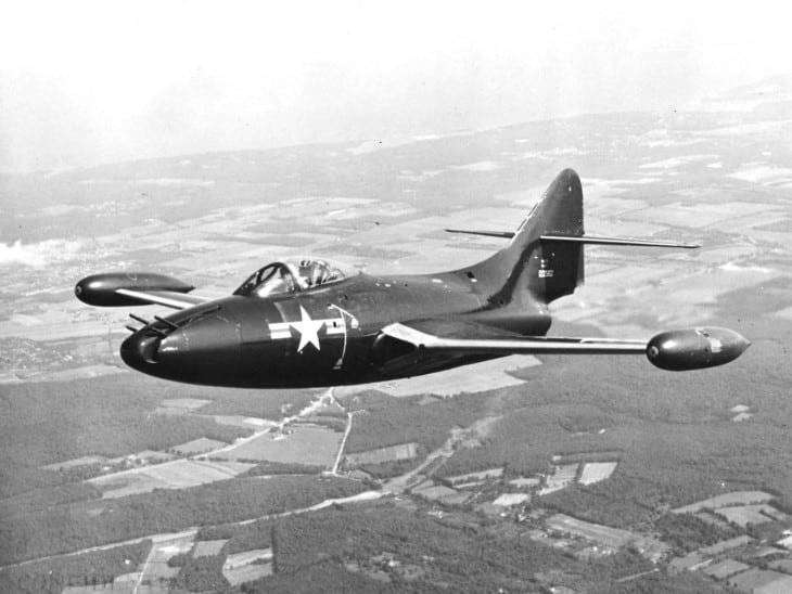 U.S. Navy Grumman F9F 3 Panther operated by the Naval Air Test Center