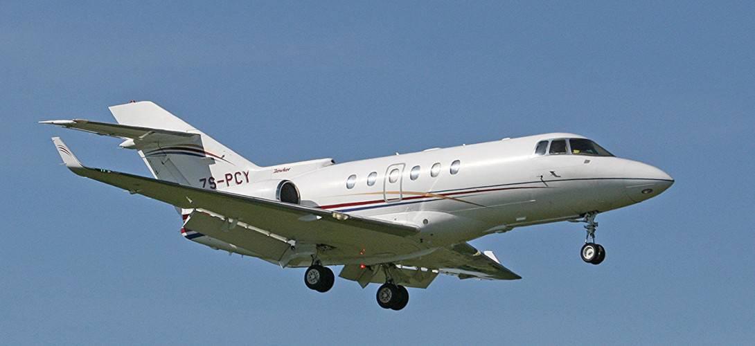 ZS PCY Raytheon Hawker 800